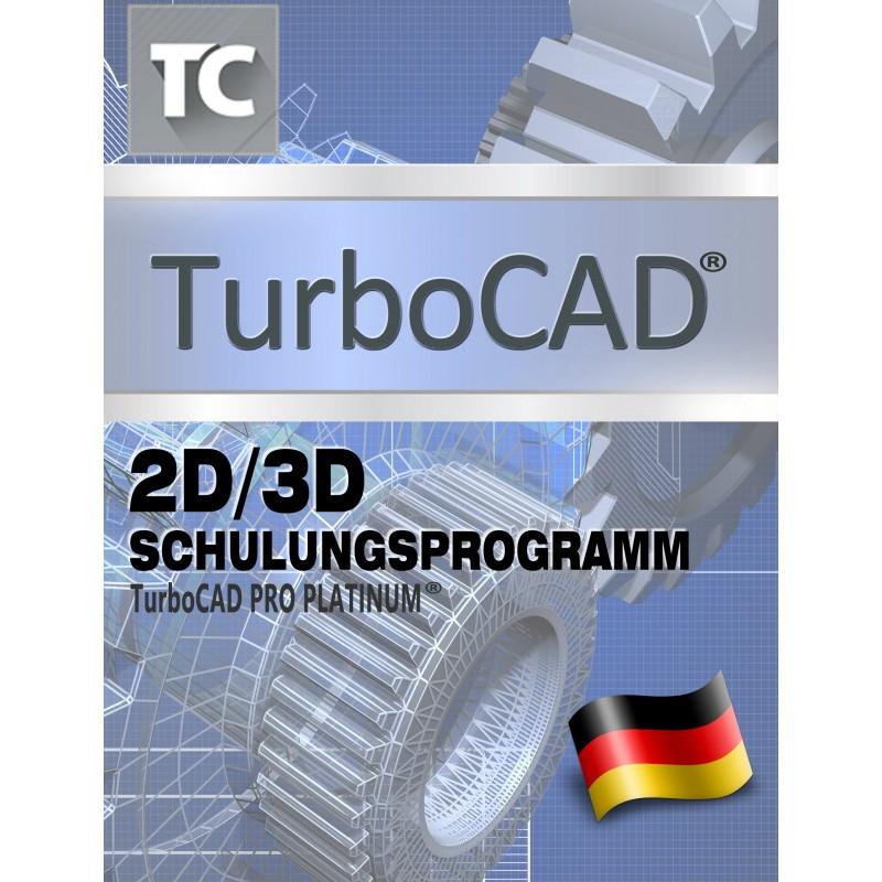 TurboCAD 2D/3D Schulungsprogramm für TurboCAD Pro Platinum